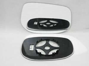 Wing Mirror Glass For HONDA JAZZ 2008-2014 Convex Right Side Heated /JH032