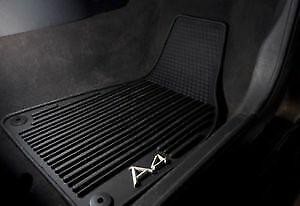 Audi A4 Avant 2016> Genuine Rubber Floor Mats