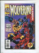 WOLVERINE #99 ANNUAL - GRUDGE MATCH WITH DEADPOOL - (9.2) 1999