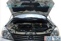 Black Strut Gas Lift Bonnet Hood Damper Kit For Nissan X-Trail SUV T31 08-13