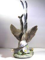 "HOMCO Home Interiors Masterpiece, ""Scissortail"" Porcelain Bird Figurine 1986"