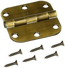 NATIONAL MFG/SPECTRUM BRANDS HHI N830-172 Pin Door Hinge, 3-Inch, Antique Brass