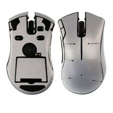 Skinomi Brushed Aluminum Gaming Mouse Skin Full Body Cover for Razer Mamba