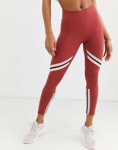 Nike Womens Sportswear One Icon Clash 7/8 Tights Leggings Cedar BV5362-661 Sz L