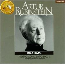 Audio CD Piano Concerto 1 - Brahms - Free Shipping