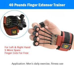 20/40/60lbs Finger Hand Extensor Trainer Exerciser Hand Rehabilitation+