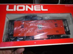 LIONEL #36115  HALLOWEEN TRANSYLVANIA CABOOSE X3110 ORANGE/BLACK