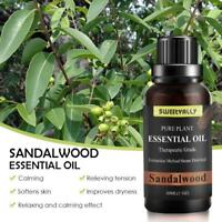 PURE SANDALWOOD OIL Undiluted 100% Pure Natural Essential Oil Aromatherapy 30ml