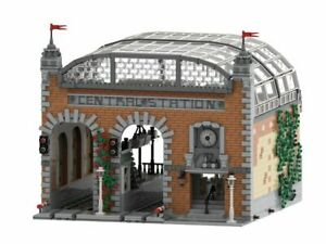 LEGO Train Station Building Instruction PDF