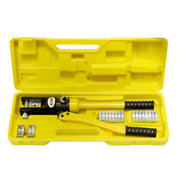 ABN | Hydraulic Crimper (16 Ton) Cable Crimping Tool with 11 Crimper Dies