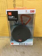 Genuine JBL Clip 2 Waterproof Bluetooth Speaker - Black JBLCLIP2BLKAM Brand New