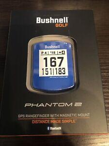 Bushnell Phantom 2 GPS Rangefinder / Brand New / Color: Blue / Free Shipping