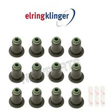 For BMW E82 E90 E71 E85 E60 Exhaust Valve Stem Seal Kit 6 mm I.D.ELRING KLINGER