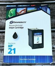 Dataproducts Remanufactured Inkjet Cartridge for HP 21 Black NEW! Ships Free!