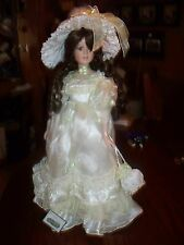 """15"""" COLLECTIBLE VICTORIAN PORCELAIN DOLL"""