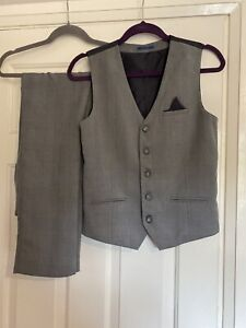 V By Very Boys Waistcoat And Trousers 13yrs