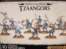 Tzaangors - Tzeentch Arcanites Chaos Warhammer 40k Games Workshop Model New!