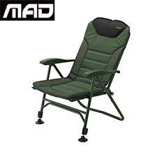 MAD Siesta Relax Chair Alloy Carp Fishing Anglers Aluminium  Comfortable