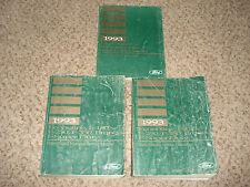 1993 FORD TRUCK F150 F250 F350 SUPER DUTY BRONCO SHOP MANUAL SET SERVICE BOOKS
