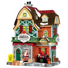 Lemax Christmas Card Shop, Weihnachtsdorf, Lichthäuser LED, Weihnachtsdeko