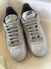 Nike Cortez Grey Leather Size 3