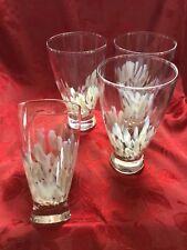NEW FLAWLESS Stunning Evolution WATERFORD 4 URBAN SAFARI HIBALL TUMBLER Glasses