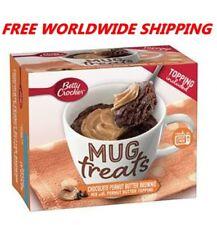 Betty Crocker Chocolate Peanut Butter Brownie Mix Mug Treats FREE WORLD SHIP