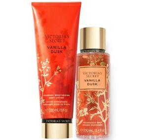 Victoria's Secret Vanilla Dusk Fragrance Lotion + Fragrance Mist Duo Set