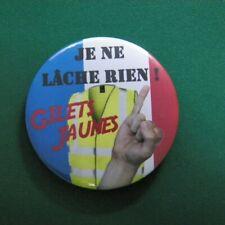 BADGE DE SOUTIEN - MOUVEMENT DES GILETS JAUNES - JNLR!