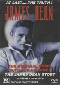 ROBERT ALTMAN'S THE JAMES DEAN STORY DVD REGION 4 NEW AND SEALED