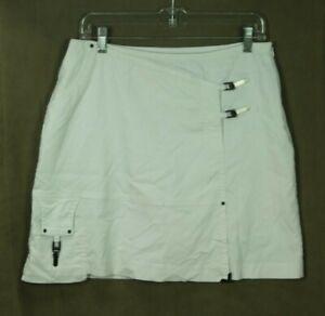 Jamie Sadock Skort Skirt Size 8 White Golf Tennis Resort