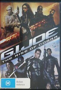 G.I. Joe The Rise of the Cobra DVD