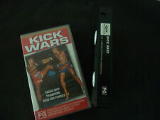 KICK WARS ULTRA RARE PAL VHS KICKBOXING VIDEO! MUAY THAI CHART CHAI NOI
