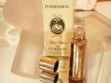 Super Neat-O Posession Perfume France De Corday Roller In Orginal Box 167jn7