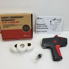 Genuine Avery Dennison Monarch 1110 Price Gun Labeler w/ 9 Rolls Price Stickers