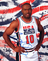TIM HARDAWAY SIGNED AUTOGRAPHED 8x10 PHOTO TEAM USA VERY RARE BECKETT BAS