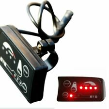 Electric Bike Lcd Display Control Panel Power Light Switch Indicator Waterproof