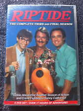 RIPTIDE - The Complete Third and Final Season (DVD - 5-Disc Set) - REGION 1