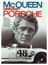 Porsche *POSTER* Steve McQueen SEBRING 908 Race Car Image 911 - BEAUTIFUL PRINT