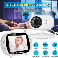 3.5? Digital Funk Babyphone mit Kamera Farbe Video Monitor Nachtsicht Babypflege