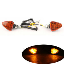 Orange Motorcycle LED Amber Turn Signal Lights Indicator Lamp Blinker For KTM