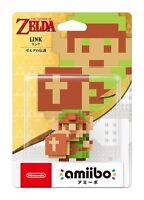 NEW Nintendo 3DS Amiibo Link The Legend of Zelda 8bit Link JAPAN IMPORT OFFICIAL