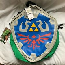 NEW Legend Of Zelda Hylian Shield  Backpack with Link's Hood 2014
