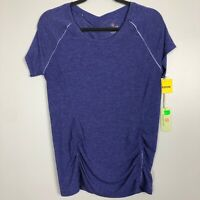 Tangerine Women's Size Medium Pullover Athletic Top Purple Short Sleeve NWT $40