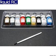 Testors 9146XT 9 miniature bottles of enamel paint for plastic models