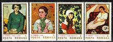 Romania 1986 Sc3353-56 Mi4231-34 4v mnh Paintings by N.Tonitza