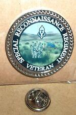 Special Reconnaissance Regiment Service Veteran lapel pin badge