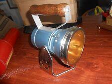 Vintage STAR Railroad Headlight Lantern Light Amber Lens CLEAN