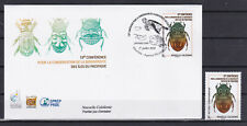 Nouvelle Caledonie 2020 Environmental protection Biodiversity FDC + stamp RARE