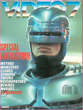 ▬►VIDEO 7 N° 74 (1988) SPECIAL CINEMA FANTASTIQUE_CHRISTOPHE MALAVOY_CAHIER X